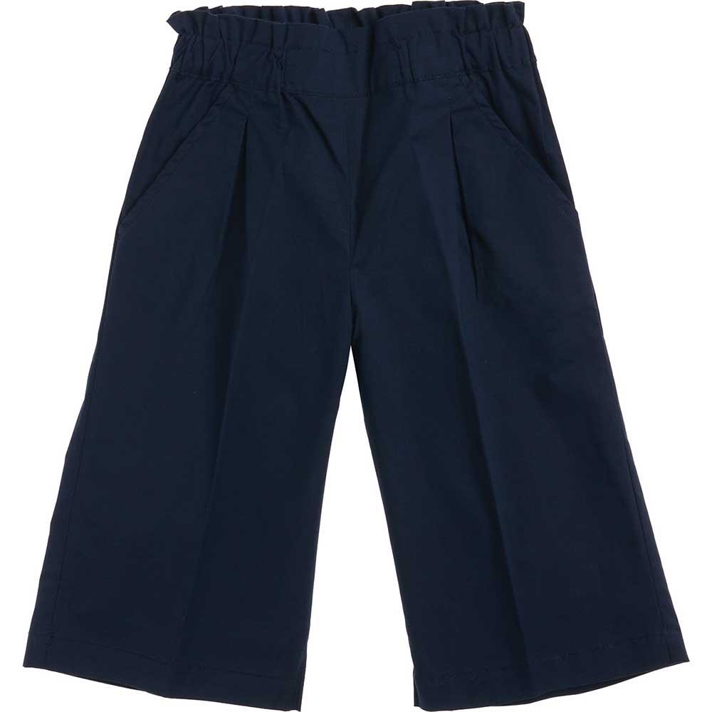 pantalone cropped blu